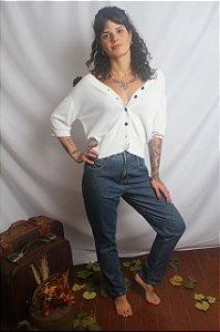 Calça Jeans estilo mom jeans No Boss (40)