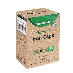 Vegan - Iron caps (Ferro) - 60 cápsulas