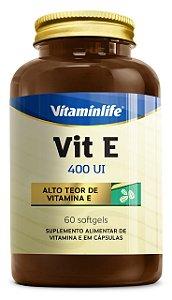 Vitamina E 400UI - 60 cápsulas