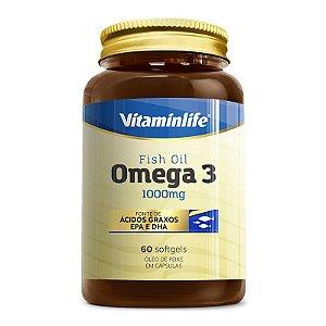 Óleo de Peixe - Omega 3 1000mg - 60 cápsulas