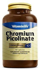 Chromium Picolinate 250mcg - 90 cápsulas