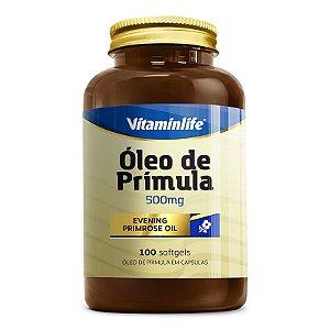 Óleo de Prímula 500mg - 100 softgels