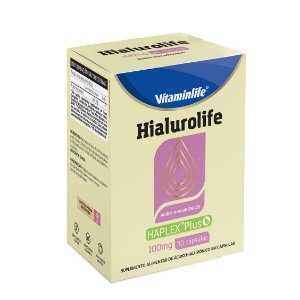 Hialurolife 100mg - Ácido Hialurônico - 30 cápsulas