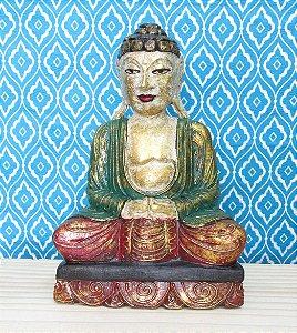 Buda de madeira color