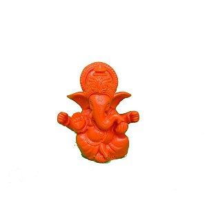 Ganesha marmorite 6,5cm - 4 opções de cor