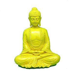 Buda meditando decorado - escolha a cor