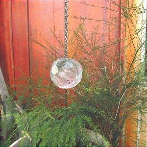Esfera de cristal facetada - escolha o modelo