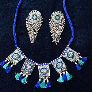 Conjunto Indiano tradicional