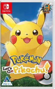 Game pokemon Let´s Go Pikachu - Switch