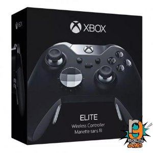 Controle Elite Sem fio Xbox One Newest Preto - Microsoft