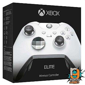 Controle Elite Branco Sem fio Xbox One Newest Branco - Microsoft