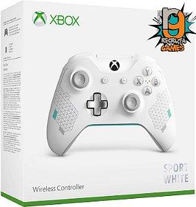 Controle Sem fio Xbox One Newest Sports White - Microsoft