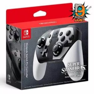 Pro Controle Nintendo Switch SmashBros  - Nintendo