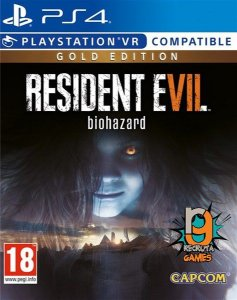 Game Resident Evil 7 Biohazard Gold Edition - PS4/VR