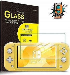Película Protetora Vidro Temperado - Nintendo Switch Lite