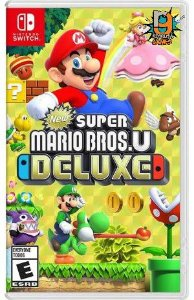 Game New Super Mario Bros U Deluxe - Switch