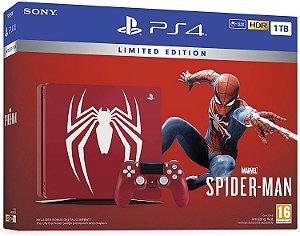 Console PS4 1TB Pro 4K Bundle Spiderman (Seminovo) CUH7115B - Sony