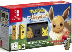 Console Nintendo Switch 32gb Bundle Eevee - Nintendo