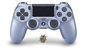 Controle DualShock 4 Sem fio para PS4 Titanium Blue - Sony