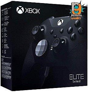Controle Elite Serie 2 Sem fio Xbox One Newest Preto - Microsoft