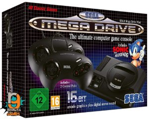 Console Megadrive Mini Classic - Sega