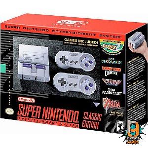 Console Super Nintendo Mini Classic - Nintendo