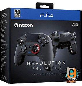 Controle Com Fio Nacon Revolution Pro Unlimited - Nacon