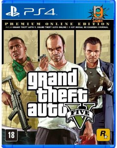Game Grand Theft Auto V Premium Edition - PS4