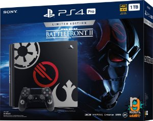 Game PS4 Pro Bundle Star Wars Battlefront 2