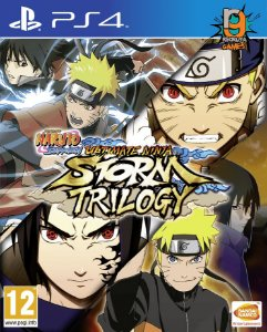 Game Naruto Shippuden Ultimate Ninja Storm Trilogy - PS4