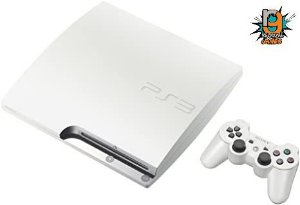 Console Playstation 3 Slim Branco 160gb - Garantia 03 Meses