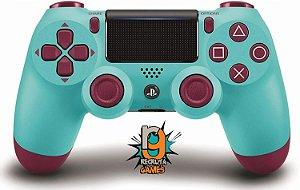 Controle DualShock 4 Sem fio para PS4 Berry Blue - Sony