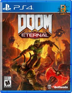 Game Doom Eternal - PS4