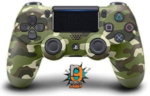 Controle DualShock 4 Sem fio para PS4 Green Camouflage - Sony