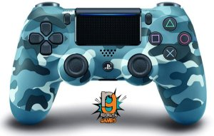 Controle DualShock 4 Sem fio para PS4 Blue Camouflage - Sony