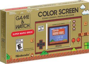 Game & Watch Super Mario Bros - Nintendo