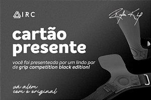 CARTÃO PRESENTE Hand Grip Competition All Black (Edição Limitada)