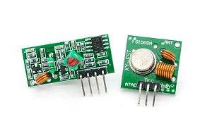 Módulo RF Trans + Rec 433Mhz AM