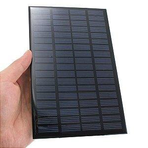 Mini Painel Solar Fotovoltaico 6V 200mA