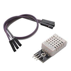 Módulo DHT22 - Sensor de Temperatura e Umidade