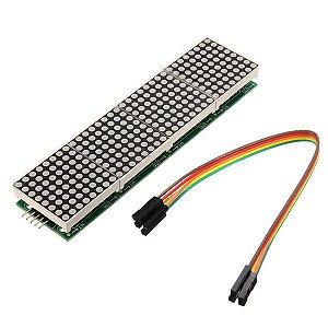 Módulo 4 Matrizes de LED 8×8 com MAX7219