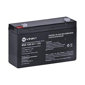 Bateria 6V 12A Selada VLCA BS6-120