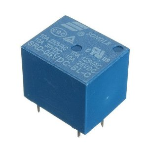 Relé 5V Songle SRD-05VDC-SL-C