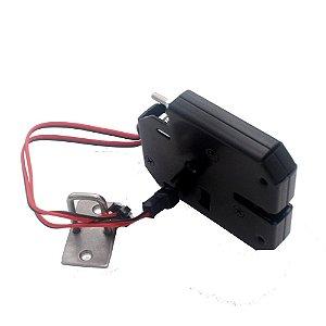 Fechadura Eletrônica 12V com Indicação de Abertura