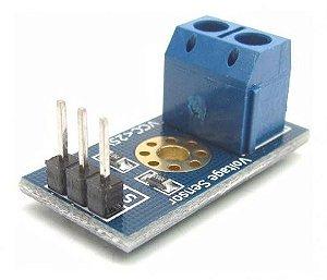 Sensor de Tensão ( Voltagem ) 0 – 25 VDC PIC - Arduino