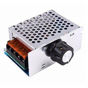 Dimmer 4000W / Regulador De Tensão Elétrica SCR10-220VAC