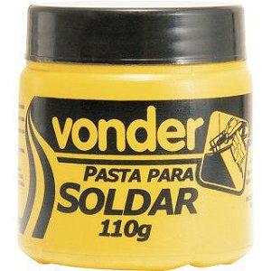 Pasta para soldar com 110 g - Vonder