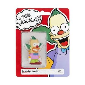Pendrive Simpsons Krusty 8Gb Usb 2.0 - Multilaser