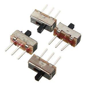 Micro Interruptor Chave 3 Posições SS12d00G4 4mm