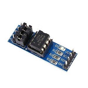Módulo memória EEPROM AT24C256  I2C